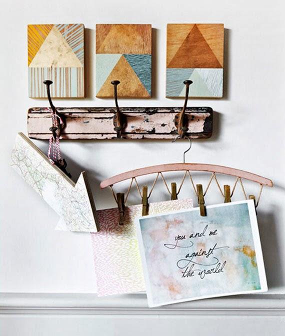 artesanato na decoração - artesanato em casa