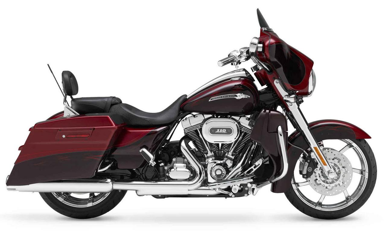 2012 Harley Davidson Flhxse3 Cvo Street Glide Motorcycle