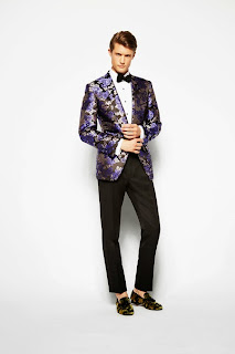 Tom Ford, menswear, style, spring summer, primavera verano, 2014, James Bond, 007, slippers, Batik pattern,
