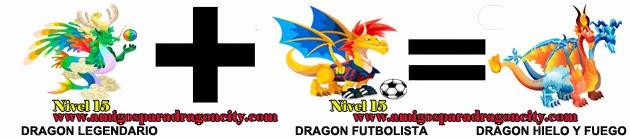 como hacer el dragon hielo y fuego en dragon city formula 1