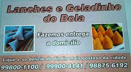LANCHES E GELADINHO DO BOLA