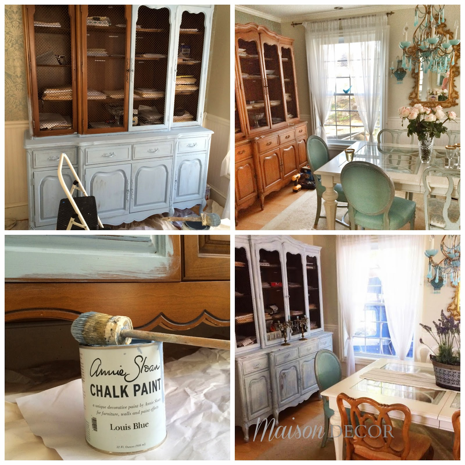 Before And After Chalk Paint Projects