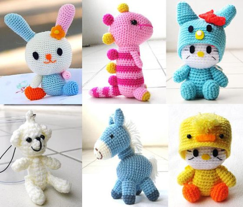 Crocheting Stuff : Simple Virtues: Just Really Cute Crocheted Stuff