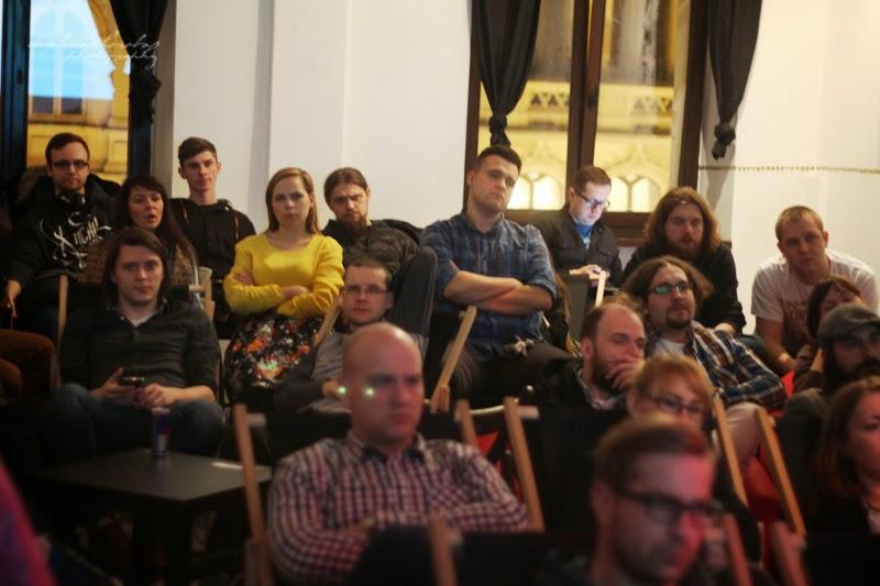 UX Faktoria Łódź, Ewelina Choroba Fotografia, widownia, prelekcja, spotkanie