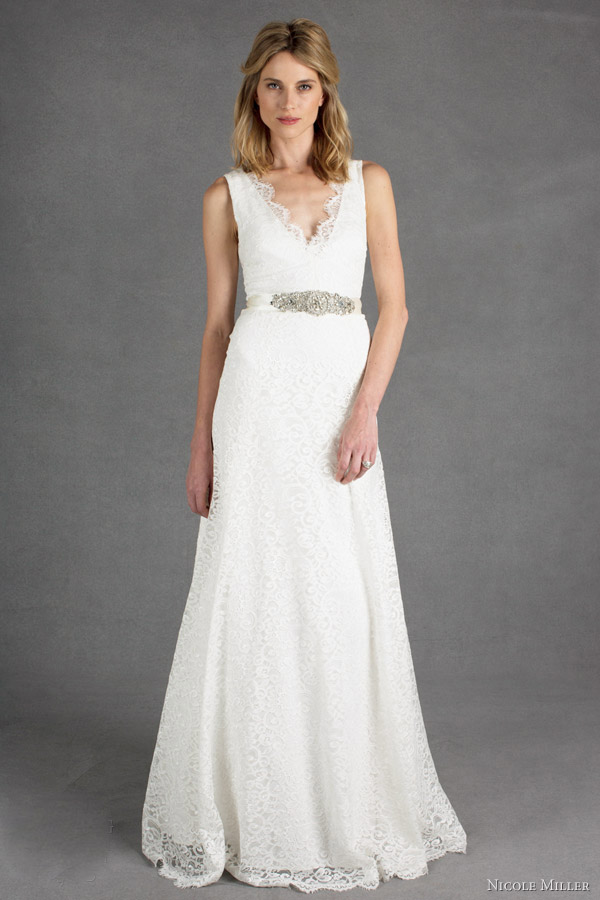 Cheap wedding gowns online blog nicole miller spring 2014 for Nicole miller dresses wedding