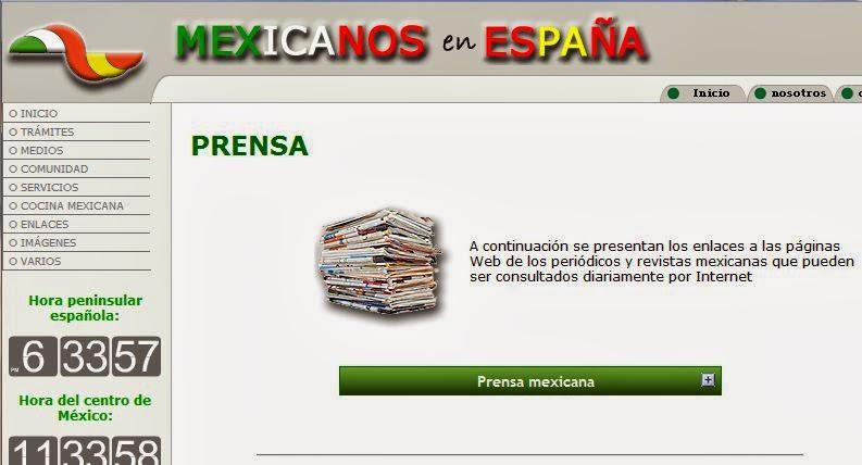 http://www.mexicanosenespana.com/prensa.htm