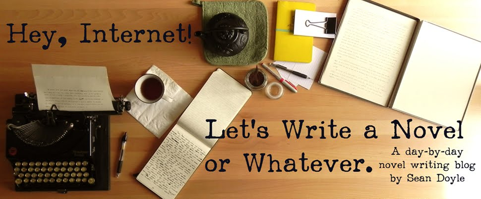 Hey, Internet! Let's Write a Novel or Whatever.