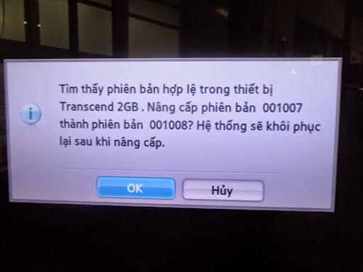 Hướng dẫn nâng cấp phần mềm cho HDTV Samsung 4
