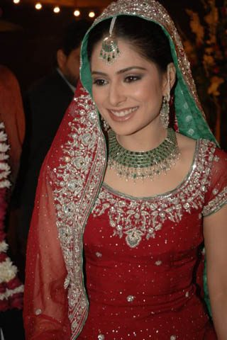 Red Bridal Dress for Women, Indian Designer Bridal Dresses 2013
