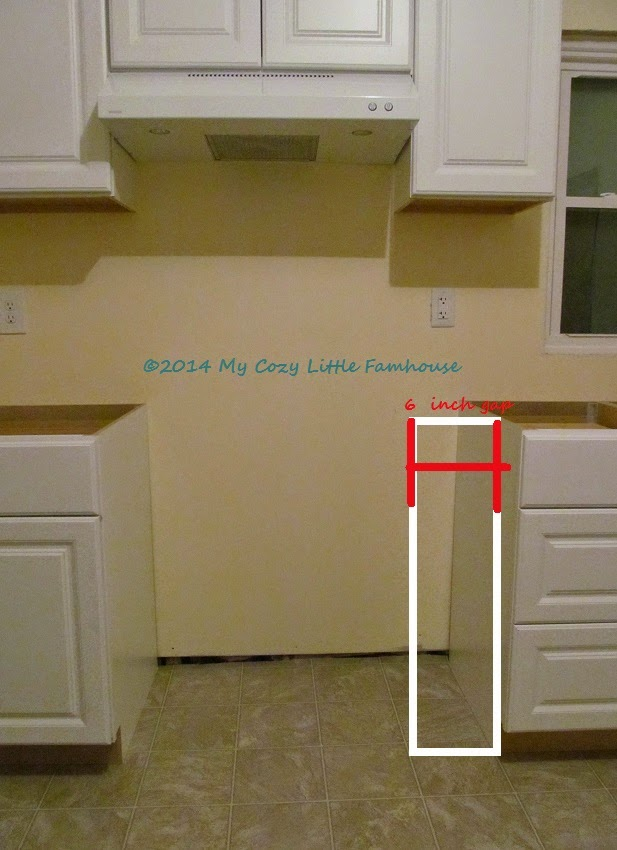 Unfortunately This Line Of Cabinets Does NOT Include 6 Inch Base Cabinets.  DOH!! What To Do? I Have 6 Options.