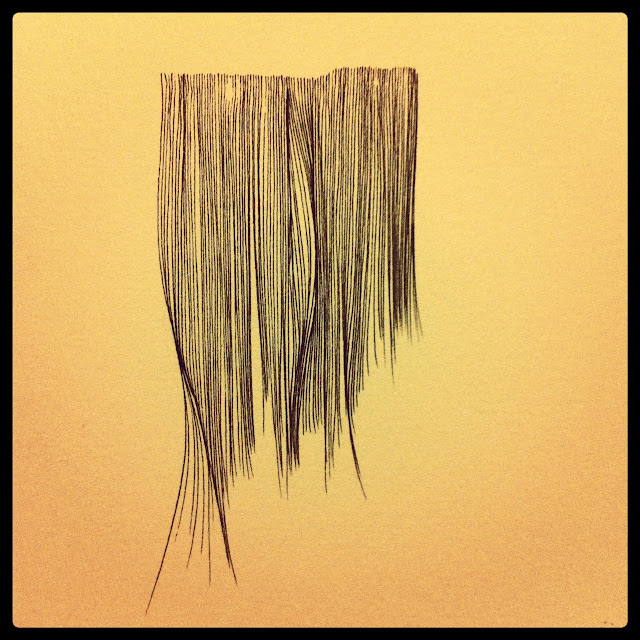 "Lana Fee Rasmussen drawing, ""I Miss the Trees"""