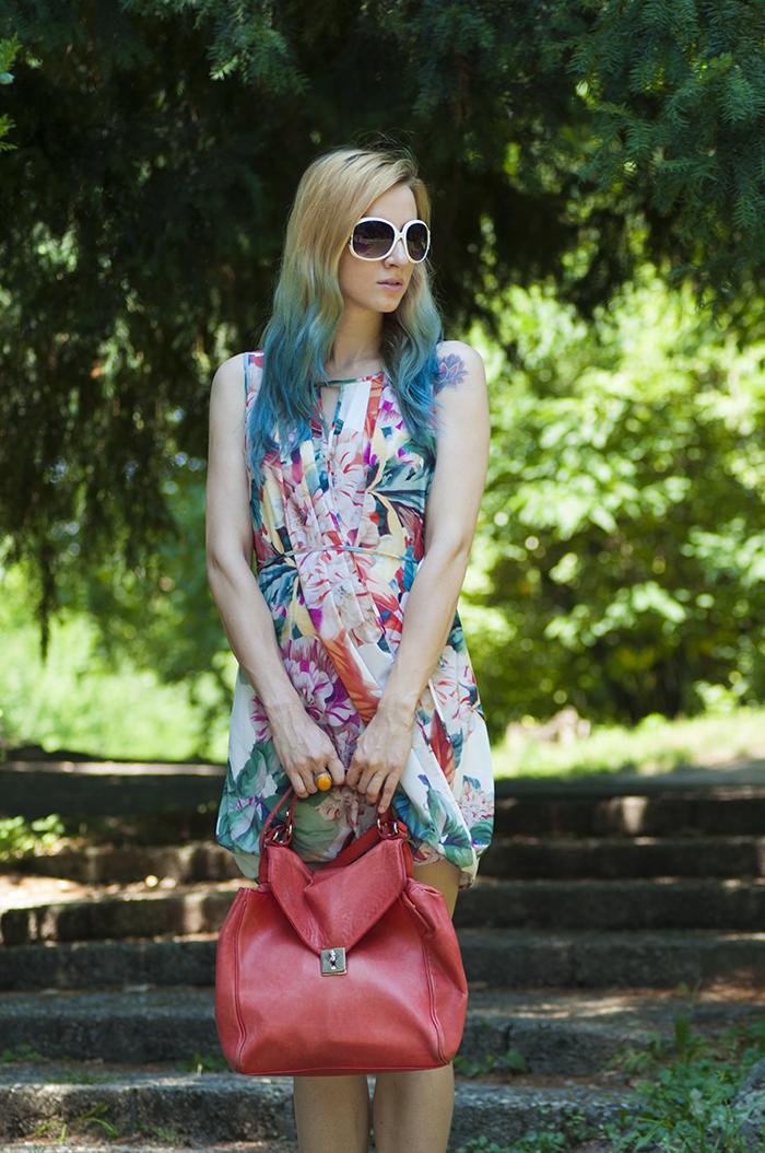 Skinny Buddha H&M floral dress