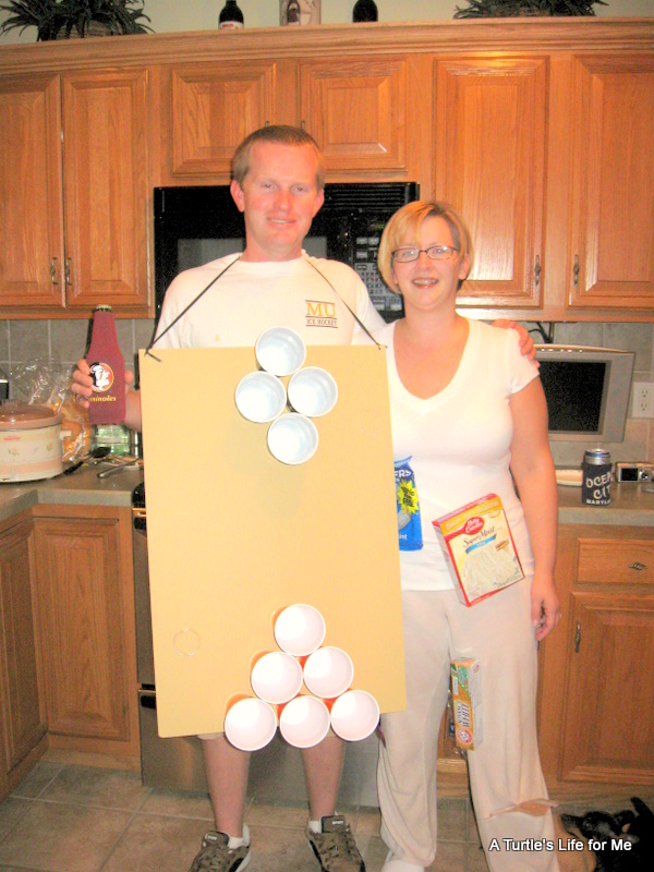 Sexy beer pong table halloween costumes