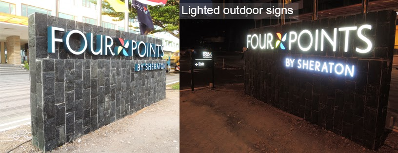 Signage Company Sign maker in Penang - Lighten Outdoor Signage