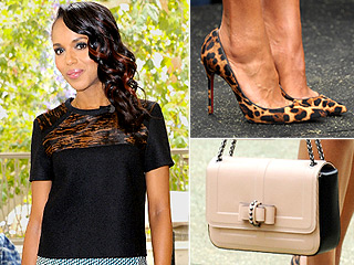 Fashion Inspired by Kerry Washington's Leopard Shoes