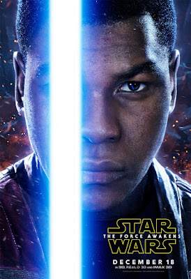Star Wars The Force Awakens Character Movie Poster Set 1 - John Boyega as Finn