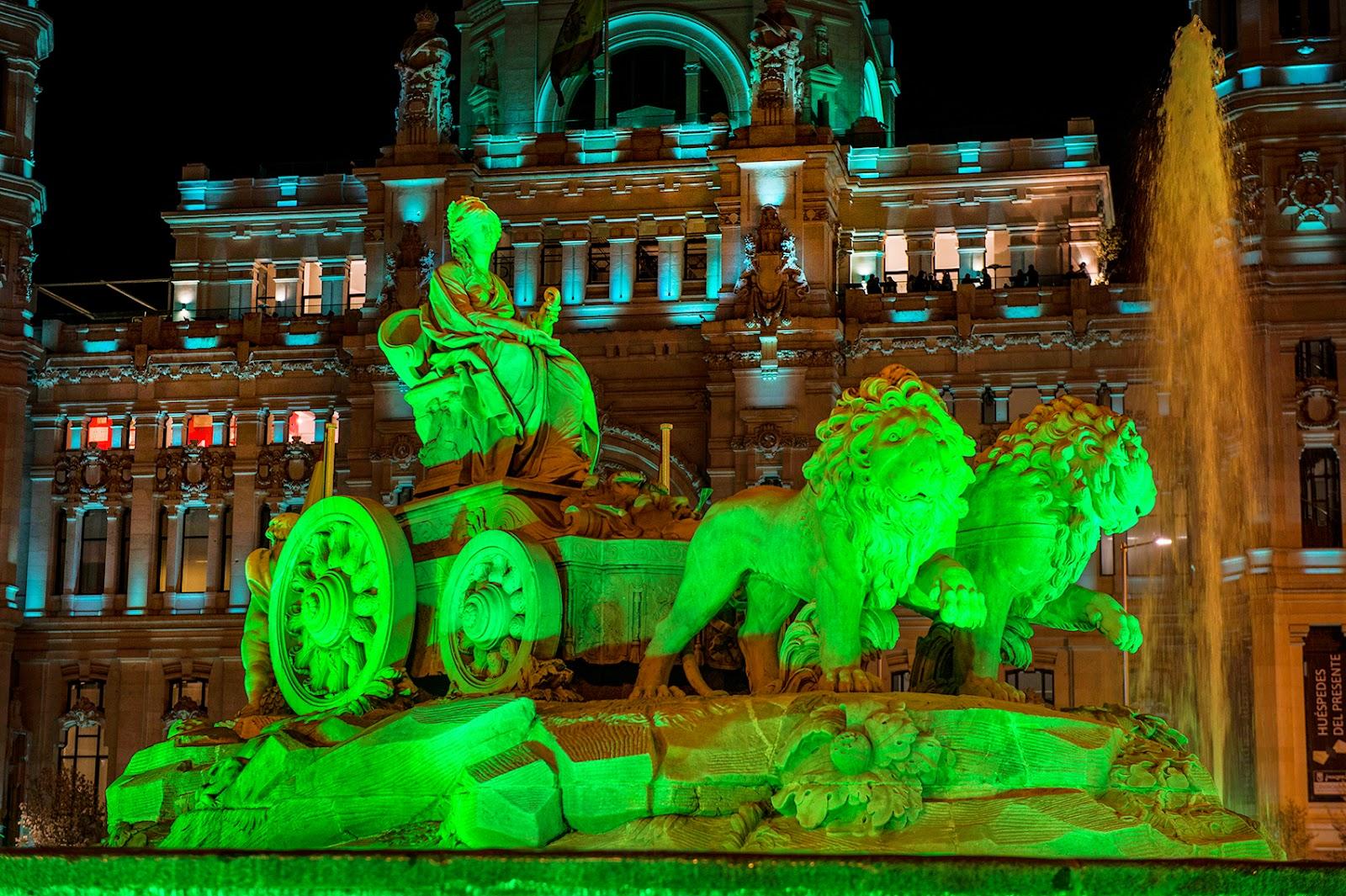 La Cibeles en Madrid #olaverde