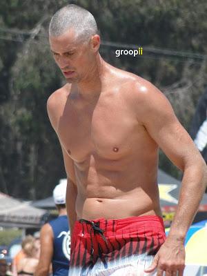 Scott Lane Shirtless at the NVL Malibu 2011