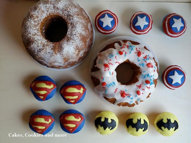 Süsse Helden - Cupcakes und Gugelhopfe