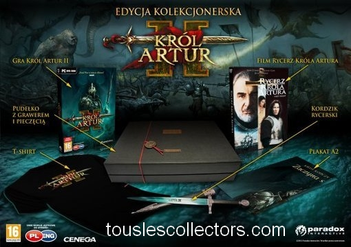 King Arthur 2 Edition collector