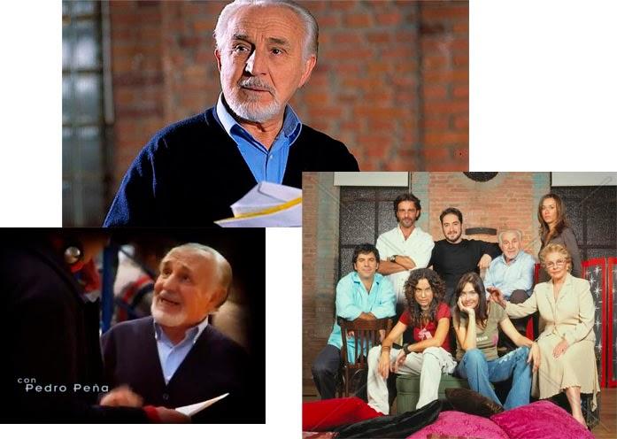 Peña, el conserje Antonio, amigo de Pedro, Pablo Puyol