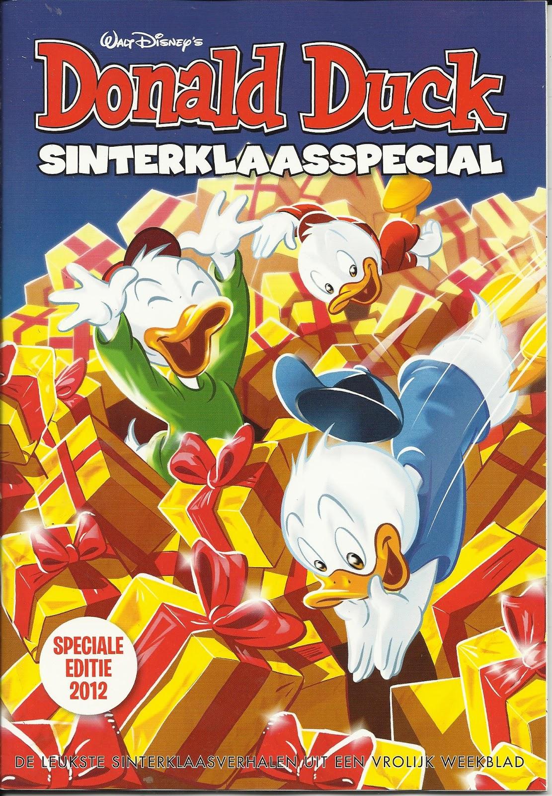 De Bob Evers Strip De Donald Duck Sinterklaasspecial