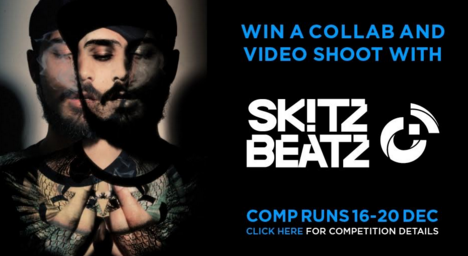 WIN A COLLAB & VIDEO SHOOT WITH SKITZ BEATZ BY DOWNLOADING BRAPP!