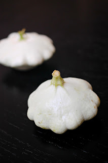 Eva bakes theres always room for dessert chocolate patty pan our csa box arrived with these white pumpkin like squashes that looked like they had tumors that is a pretty harsh description but i honestly had never mightylinksfo