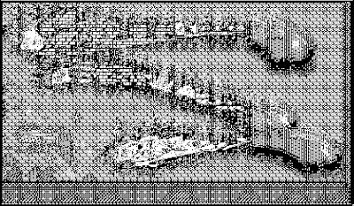 pixel art, macpaint, old school, B/W, computer art, UNTITLED 11