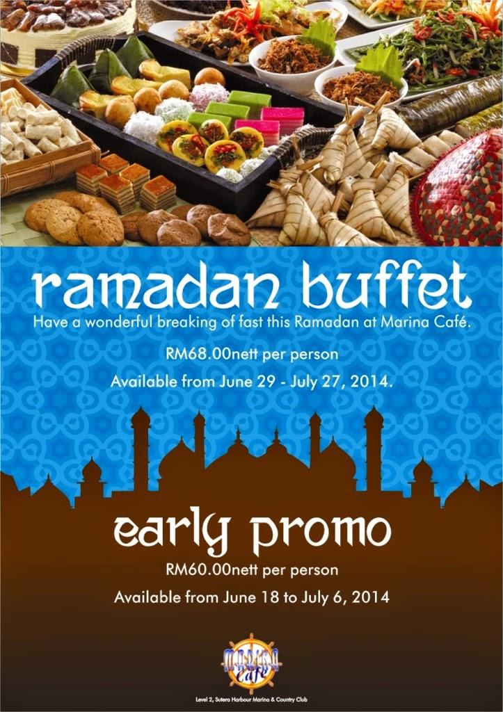 Ramadhan Buffet At Marina Cafe Sutera Harbour Malaysian