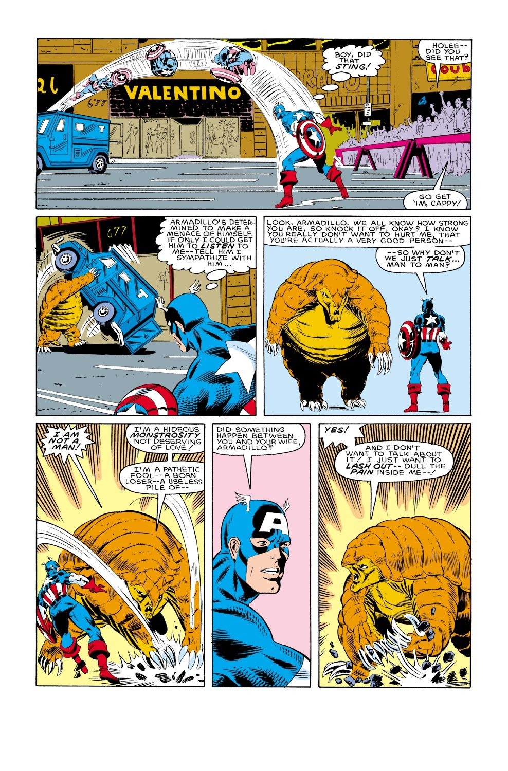 Captain America (1968) Issue #316 #244 - English 18