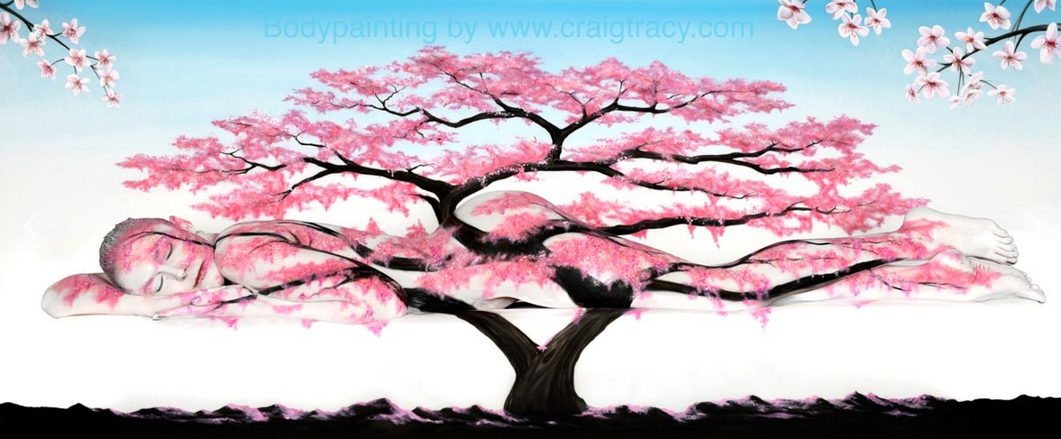 17-Blossom-Craig Tracy-Body-Paintings-on-Skin-Canvases-www-designstack-co