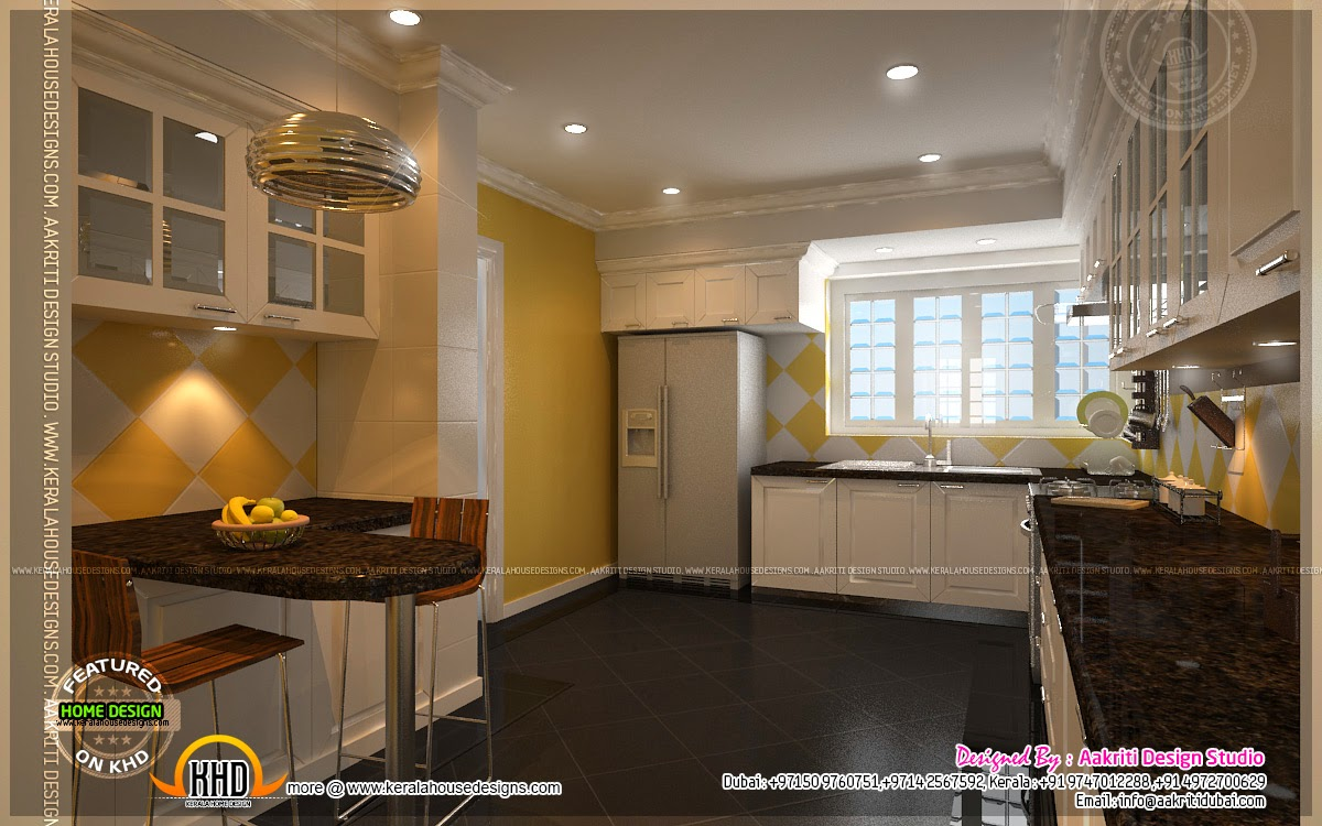 Kitchen designs by aakriti design studio kerala home for Kitchen design dubai