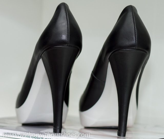 WHITE RUBBER PLATFORM PUMPS