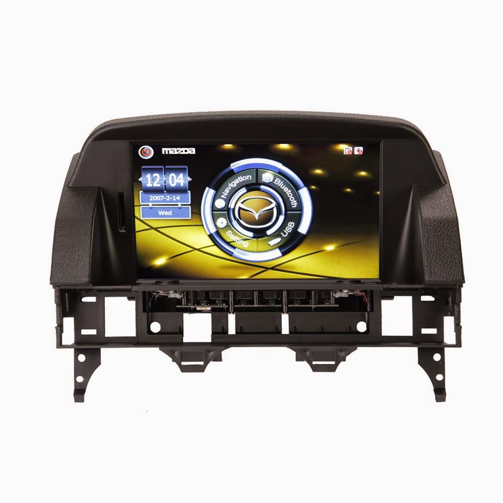 Koolertron upgrade multimedia navigation systems specially for mazda 6 honda accord