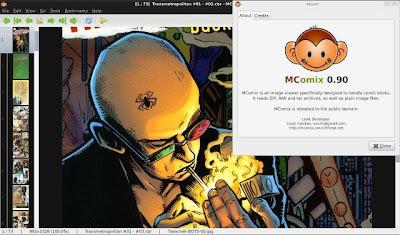 MComix comics book reader ubuntu precise
