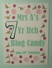 Mrs A's Blogaversary