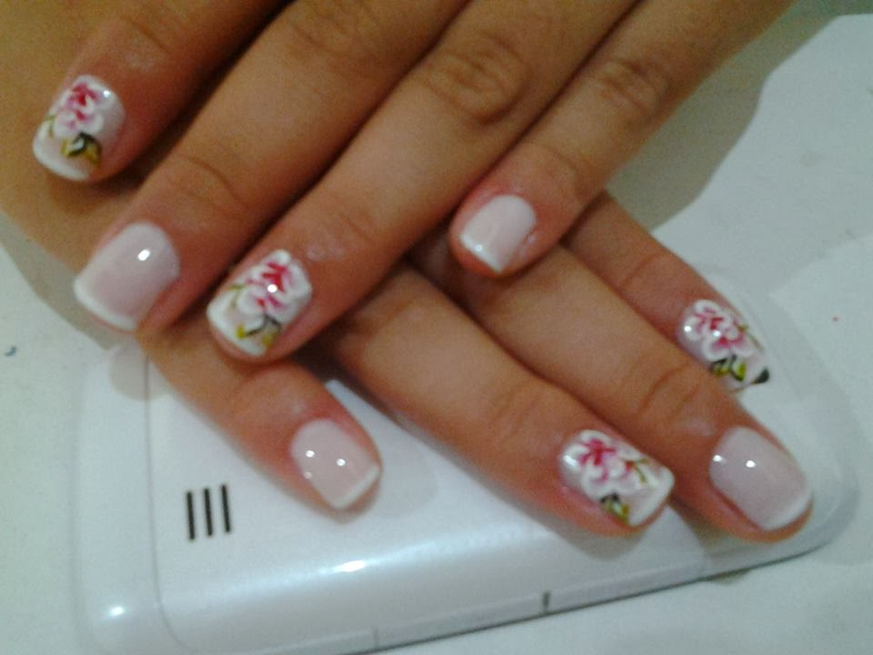 unhas decoradas estreante celiane
