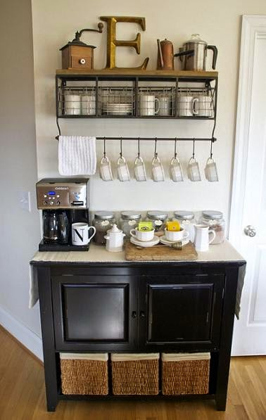 Recently In The Home DIY Circles, And In Real Estate Photos, Iu0027ve Been  Noticing The Introduction Of The Home Coffee Bar. Sometimes Itu0027s A Small  Area In The ...