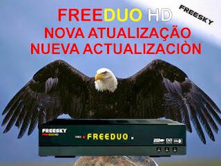 FREESKY FREEDUO HD V2.02 - KEYS 22W / 30W / 61W - ATUALIZAÇÃO 23/07/2015