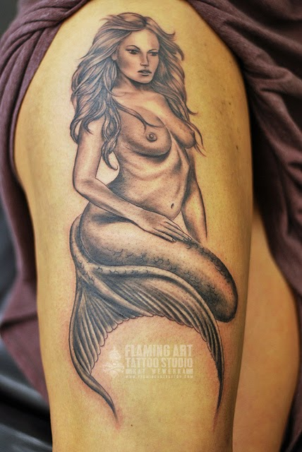 Mermaid Tattoos