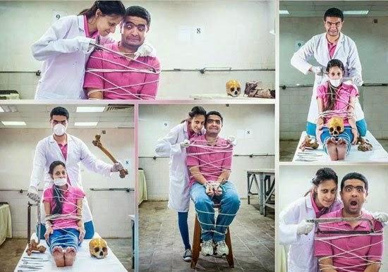 التحقيق مع الطبيب صاحب صور الزفاف