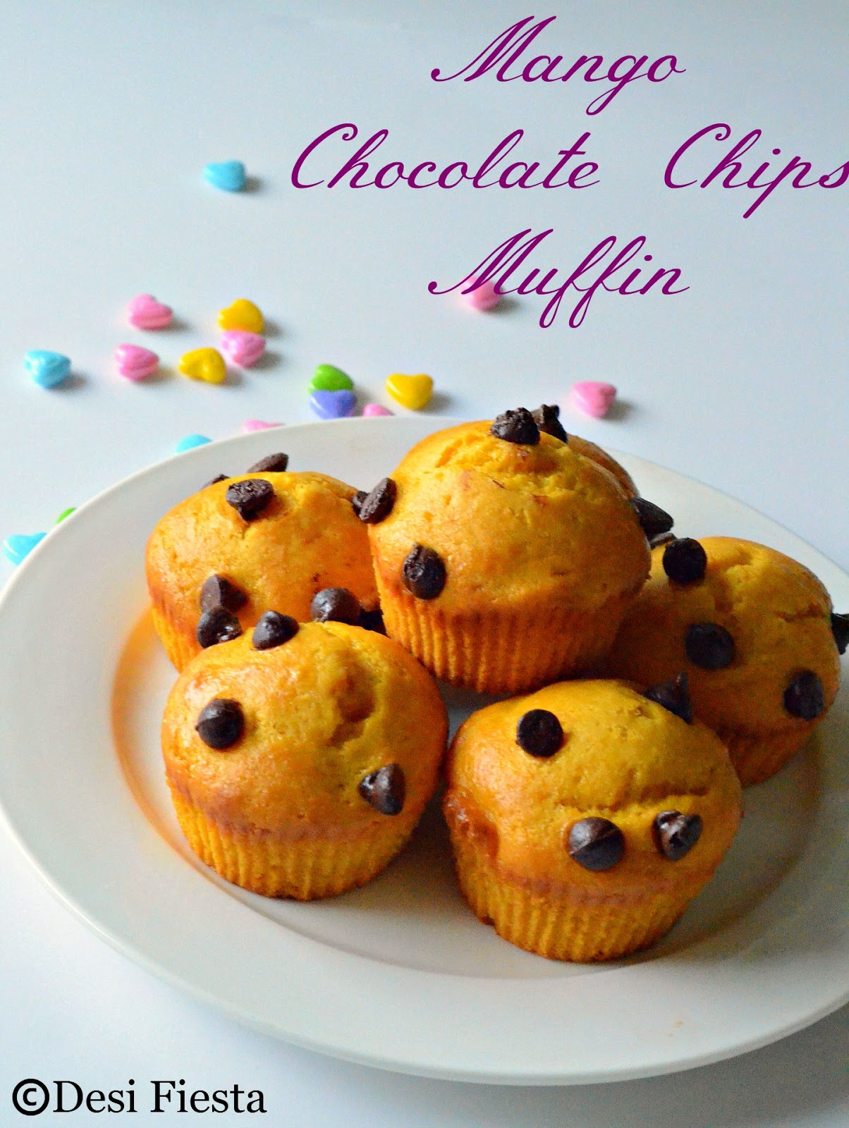 Chocolate chips Muffin recipes