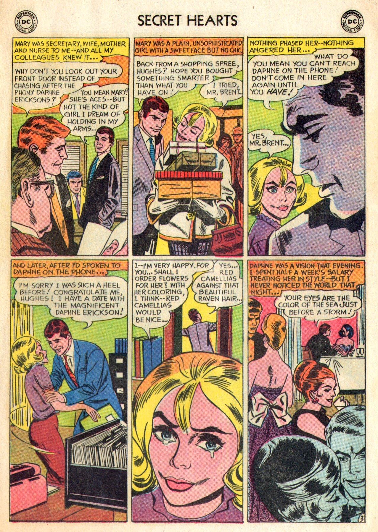 Read online Secret Hearts comic -  Issue #84 - 5