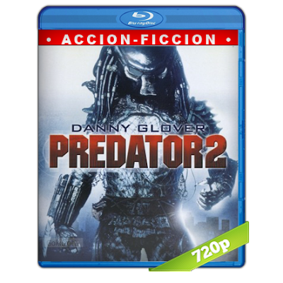 Depredador 2 (1990) BRRip 720p Audio Trial Latino-Castellano-Ingles 5.1