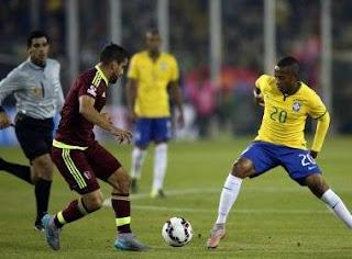 Brasil vence Venezuela e termina em primeiro lugar no Grupo C