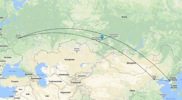 Kémerovo (cerdo)... entre Moscú, Pekín y Pionyang
