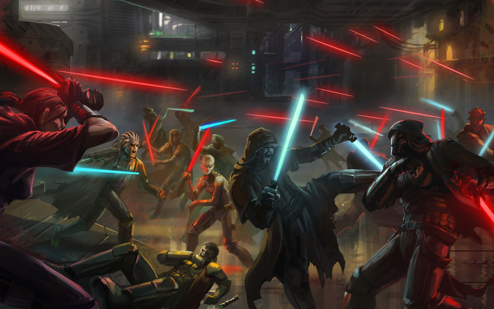 Star Wars Knights Of The Old Republic Hd Desktop Wallpaper Rewallpaper