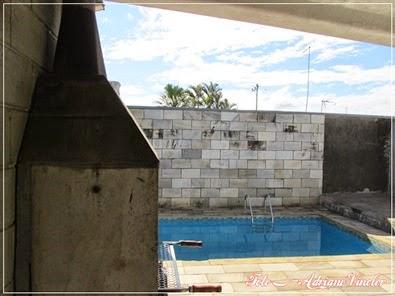 Vende-se área de lazer com piscina, sauna e churrasqueira - Salto de Pirapora