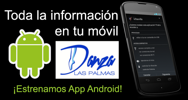 https://play.google.com/store/apps/details?id=com.octopusapps.Danza_Las_Palmas